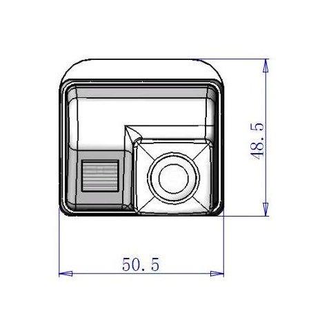 Автомобильная камера заднего вида для Mazda Превью 2