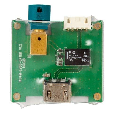 Видеоинтерфейс с HDMI для Mercedes-Benz NTG 4.5 с активными парковочными линиями Превью 6