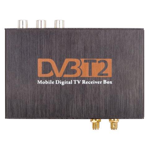 Автомобильный цифровой тюнер DVB-T2 HEVC Прев'ю 1