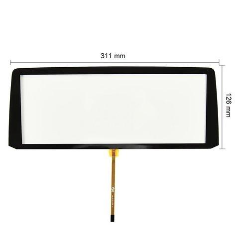 """Сенсорное стекло 10.2"""" с рамкой для BMW X5 2014– г.в. Превью 1"""