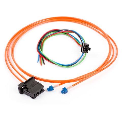 Автомобильный MOST-адаптер для подключения аудиоусилителя для Mercedes-Benz Превью 3