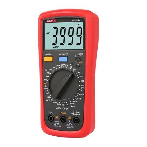 Цифровий мультиметр UNI-T UTM 139A+ (UT39A+) Прев'ю 2