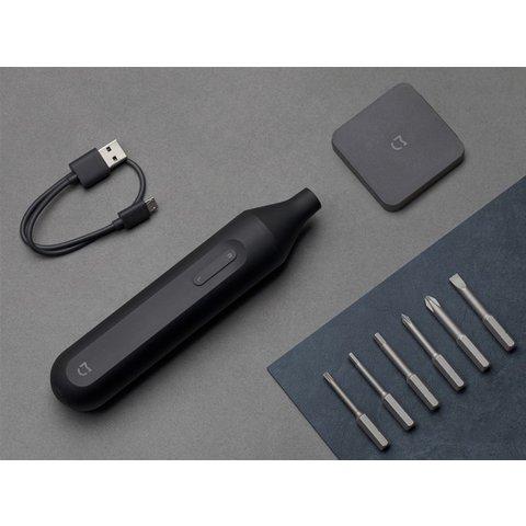Електрична викрутка Xiaomi Mi Home (Mijia) Electric Screwdriver Black 6 в 1 Прев'ю 8